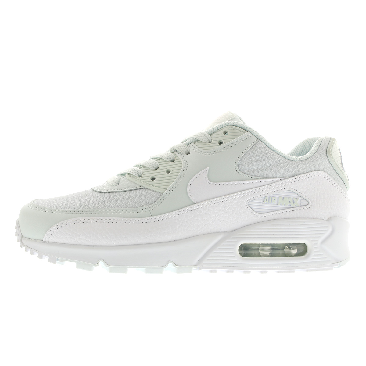 NIKE Air Max 90 325213 419 Ghost Aqua White Authentic New