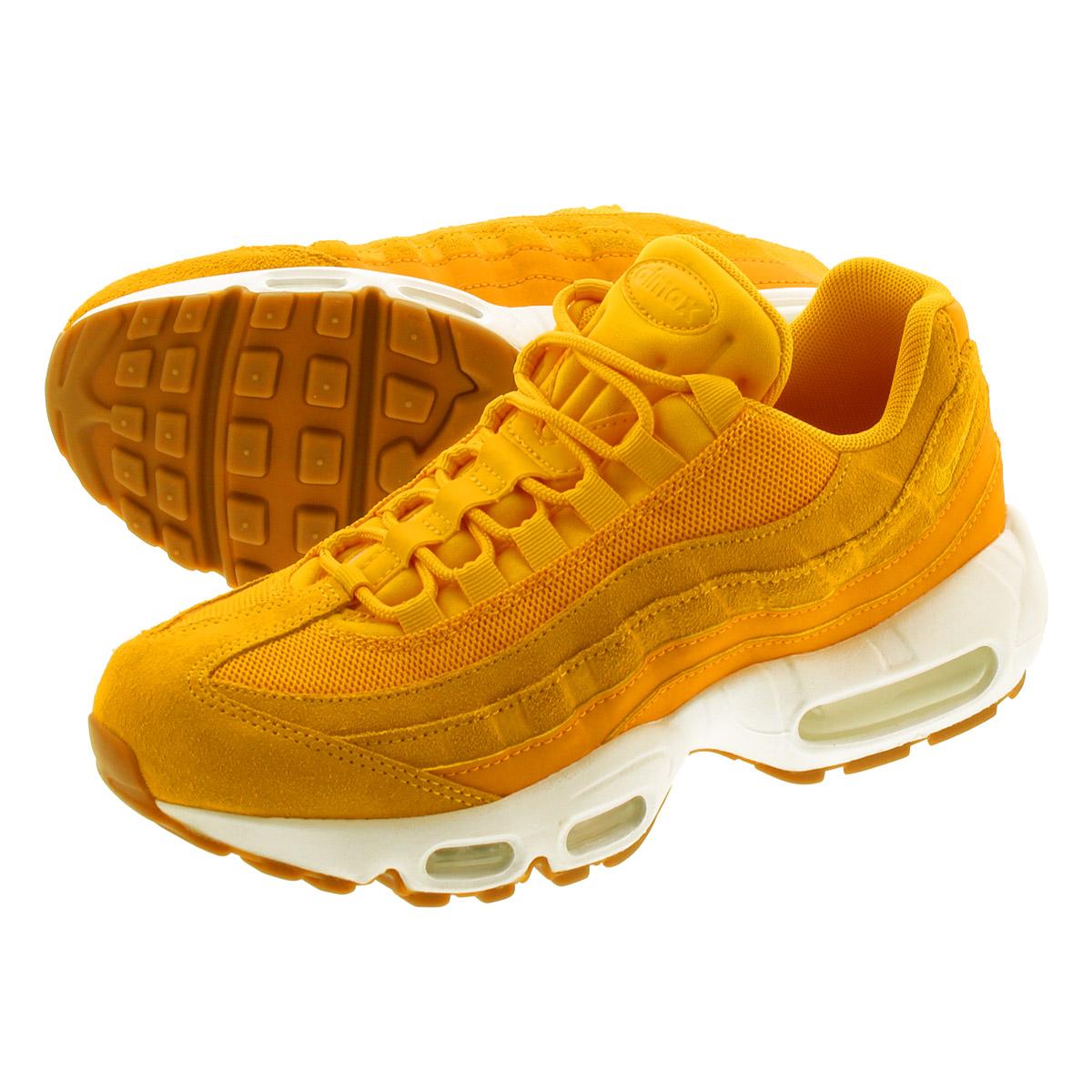 NIKE WMNS AIR MAX 95 PRM Nike women Air Max 95 premium UNIVERSITY GOLDCANYON GOLD 807,443 701