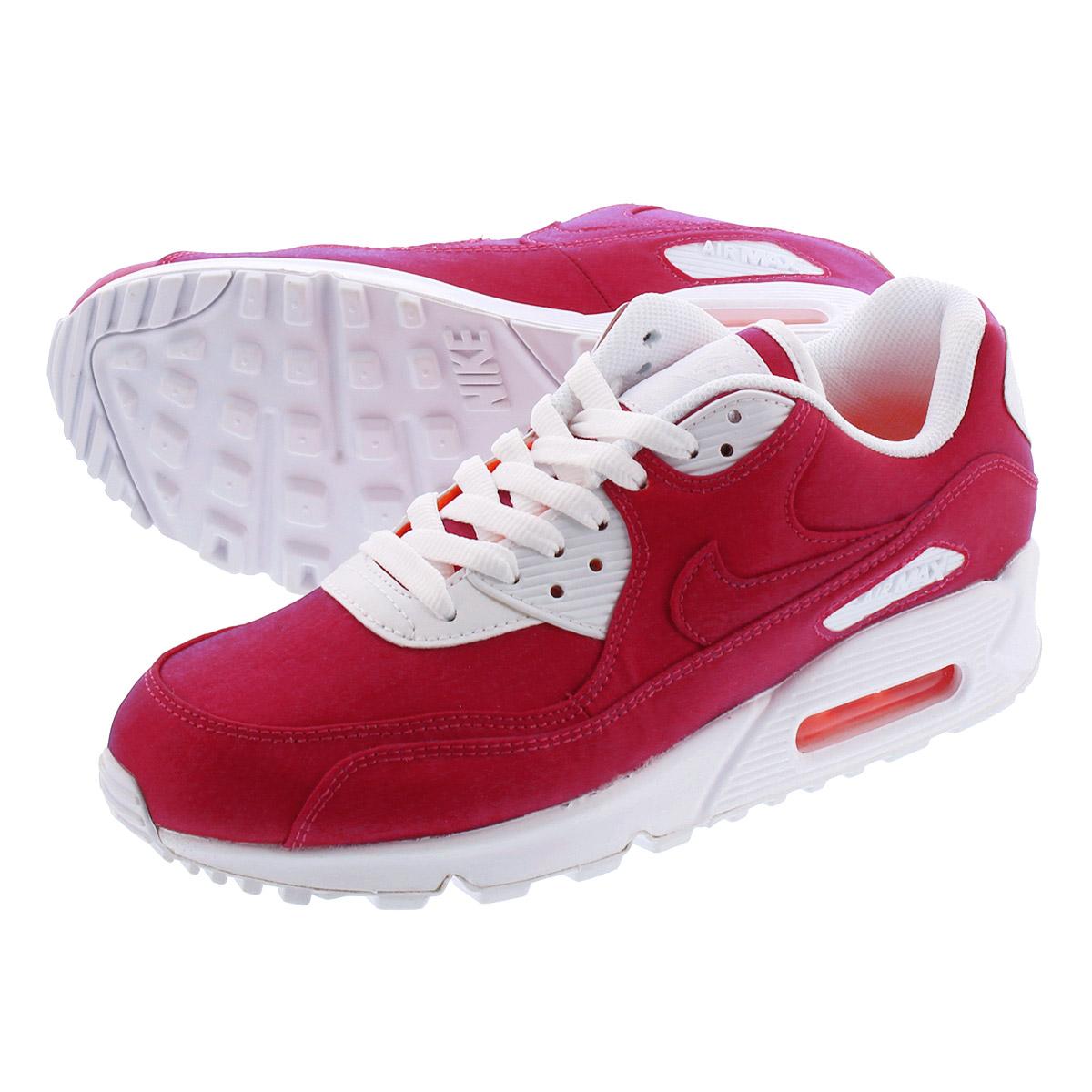 NIKE WMNS AIR MAX 90 SE Nike women Air Max 90 SE HYPER CRIMSONWHITE 881,105 800