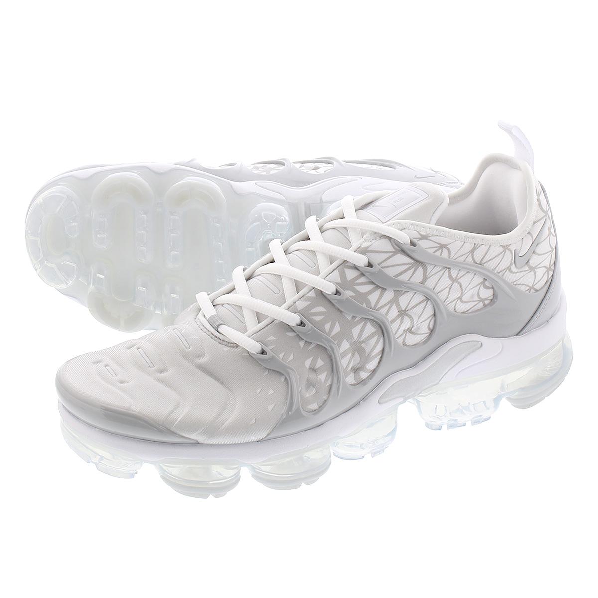 best service 1f646 c3314 NIKE AIR VAPORMAX PLUS Nike vapor max plus WHITE/METALLIC SILVER/WOLF GREY  924,453-106