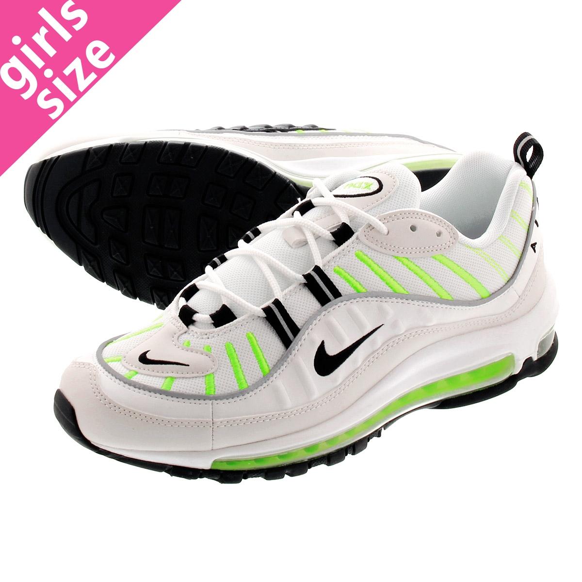 【お買い物マラソンSALE】 NIKE WMNS AIR MAX 98 ナイキ ウィメンズ エア マックス 98 SUMMIT 白い/黒/PHANTOM ah6799-115