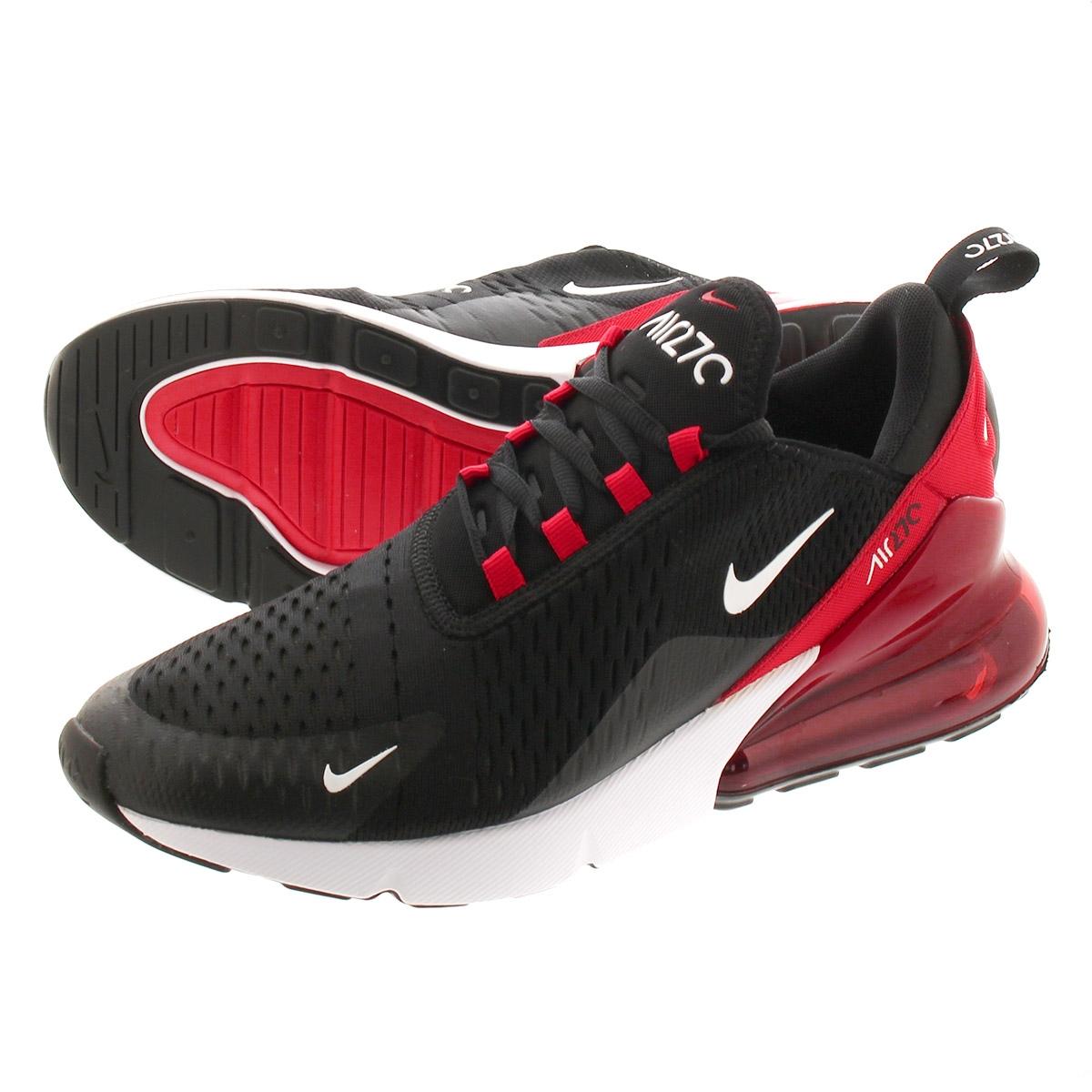 Nike Air Max 270 Men's Casual White University Red