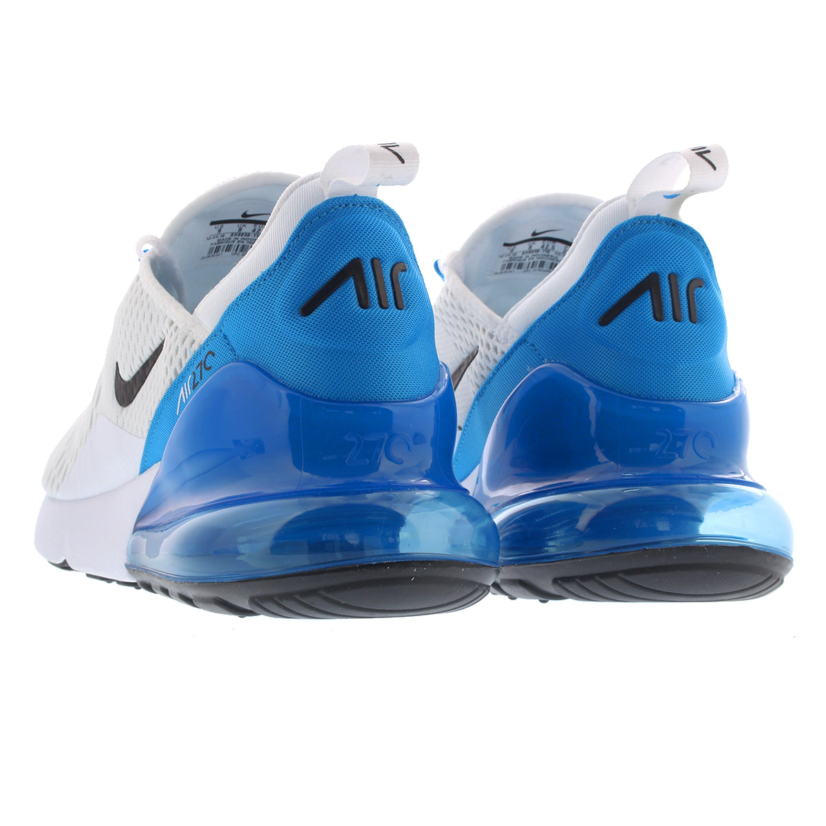 Buy Nike Air Max 270 WhiteBlack Photo Blue Pure Platinum AH8050 110