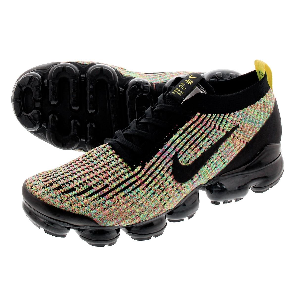 new arrivals fc8bb 0f3ff NIKE AIR VAPORMAX FLYKNIT 3 Nike vapor max fried food knit 3  BLACK/BLACK/VOLT aj6900-006