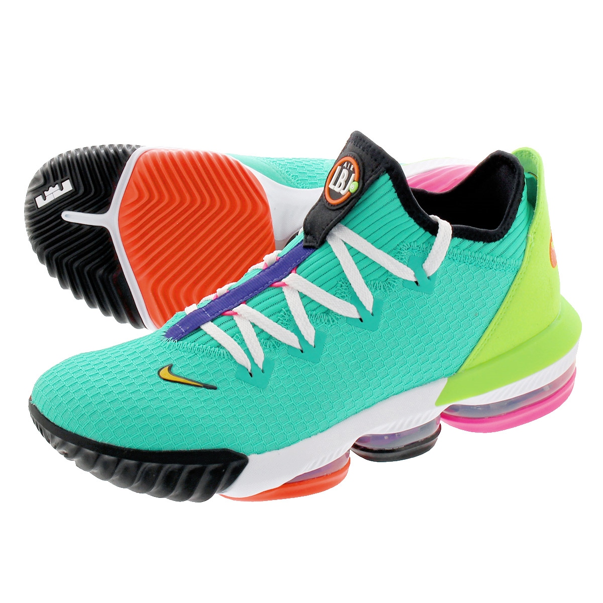 new products 13370 503ff NIKE LEBRON 16 LOW Nike Revlon 16 low HYPER JADE/TOTAL ORANGE/ELECTRIC  GREEN/BLACK ci2668-301