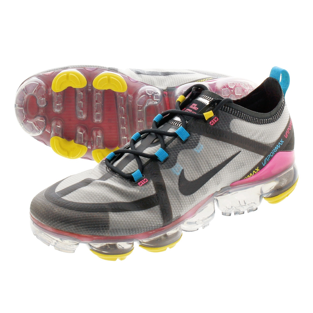 innovative design ded01 870e4 NIKE AIR VAPORMAX 2019 Nike air vapor max 2019 MOON PARTICLE/BLACK/PINK  BLAST ci9891-200