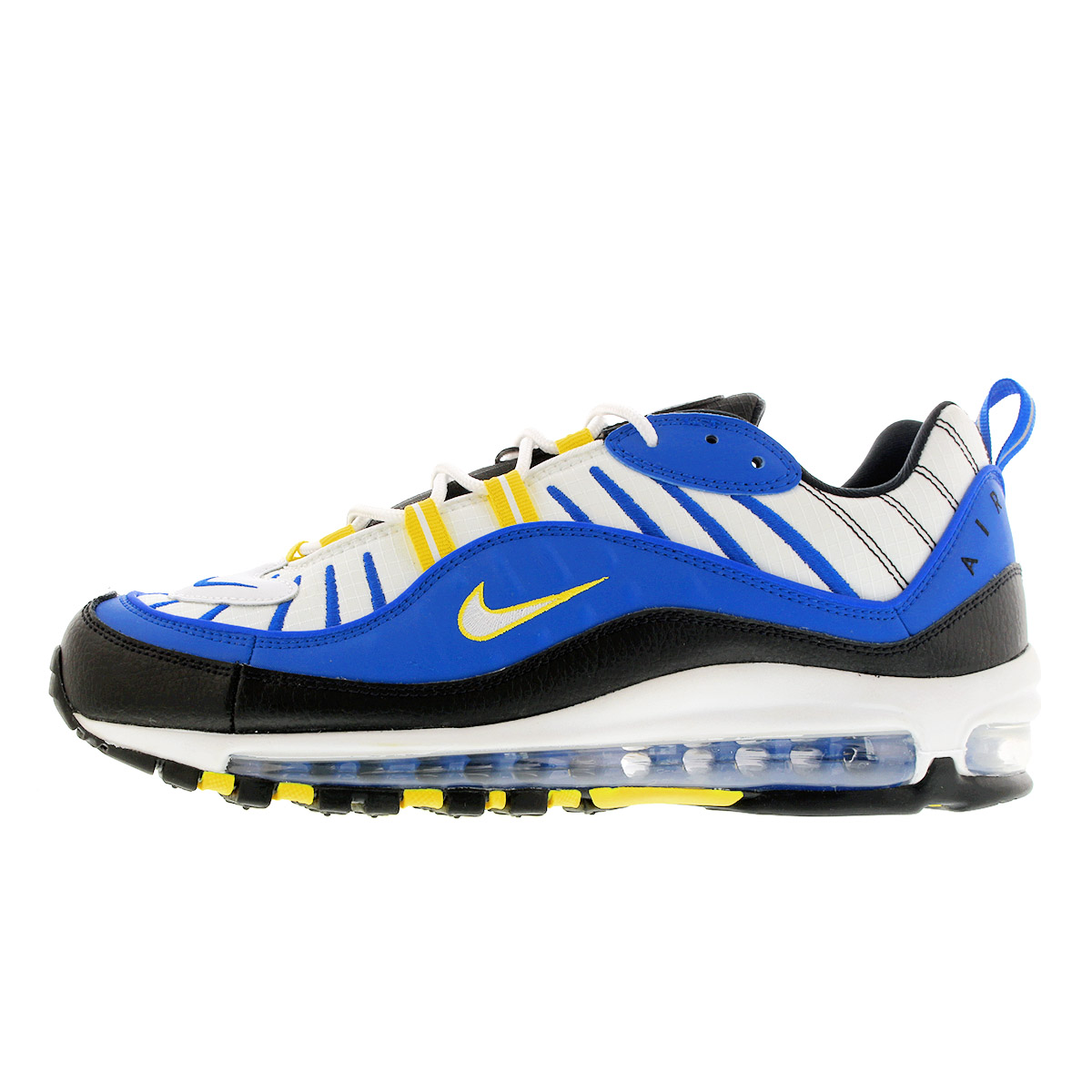 air max 98 blue and yellow