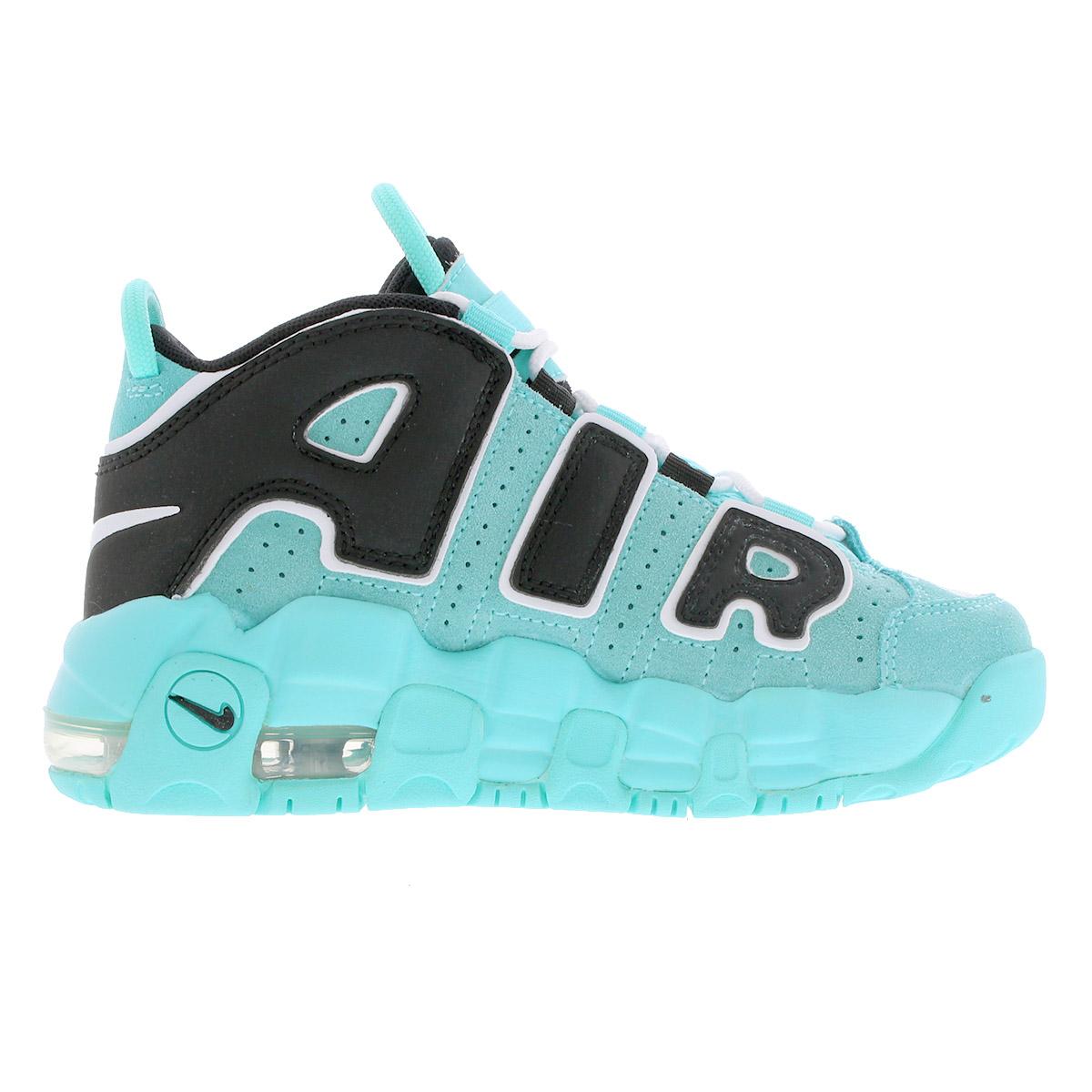 NIKE AIR MORE UPTEMPO PS Nike more up tempo PS LIGHT AQUABLACKWHITE aa1554 403