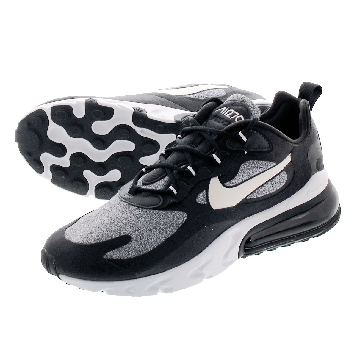 new concept b386c 1691a NIKE AIR MAX 270 REACT Kie Ney AMAX 270 re-act BLACK/VAST GREY/OFF NOIR  ao4971-001