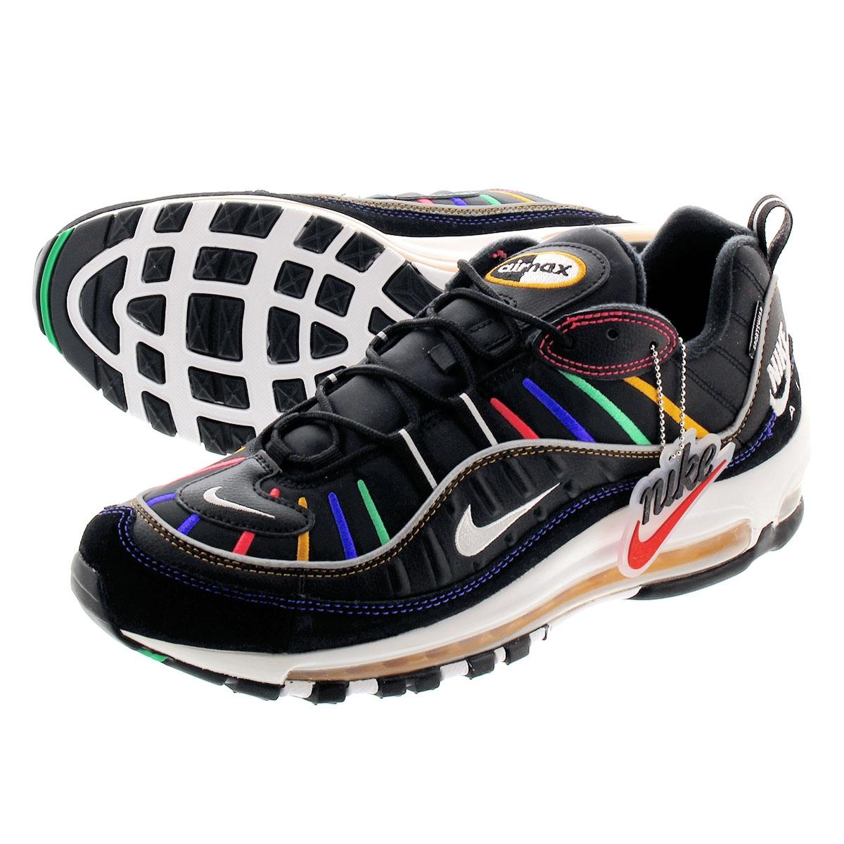 Nike Air Max 98 PRM (W) Black CI1901 023