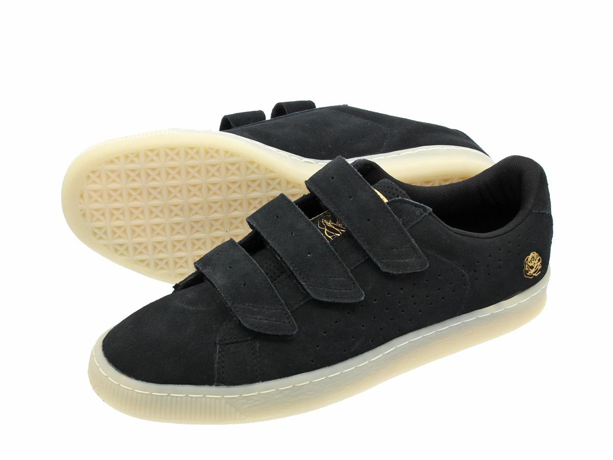 puma x careaux basket strap sneakers in beige