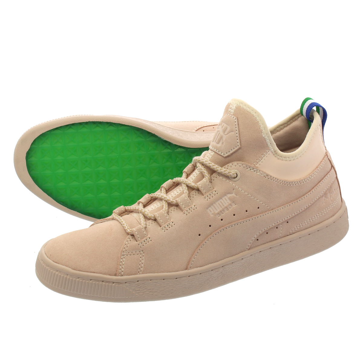 uk availability 33f70 3c020 PUMA SUEDE MID BIG SEAN Puma suede cloth mid big Sean SHELL/SHELL 366,252-01