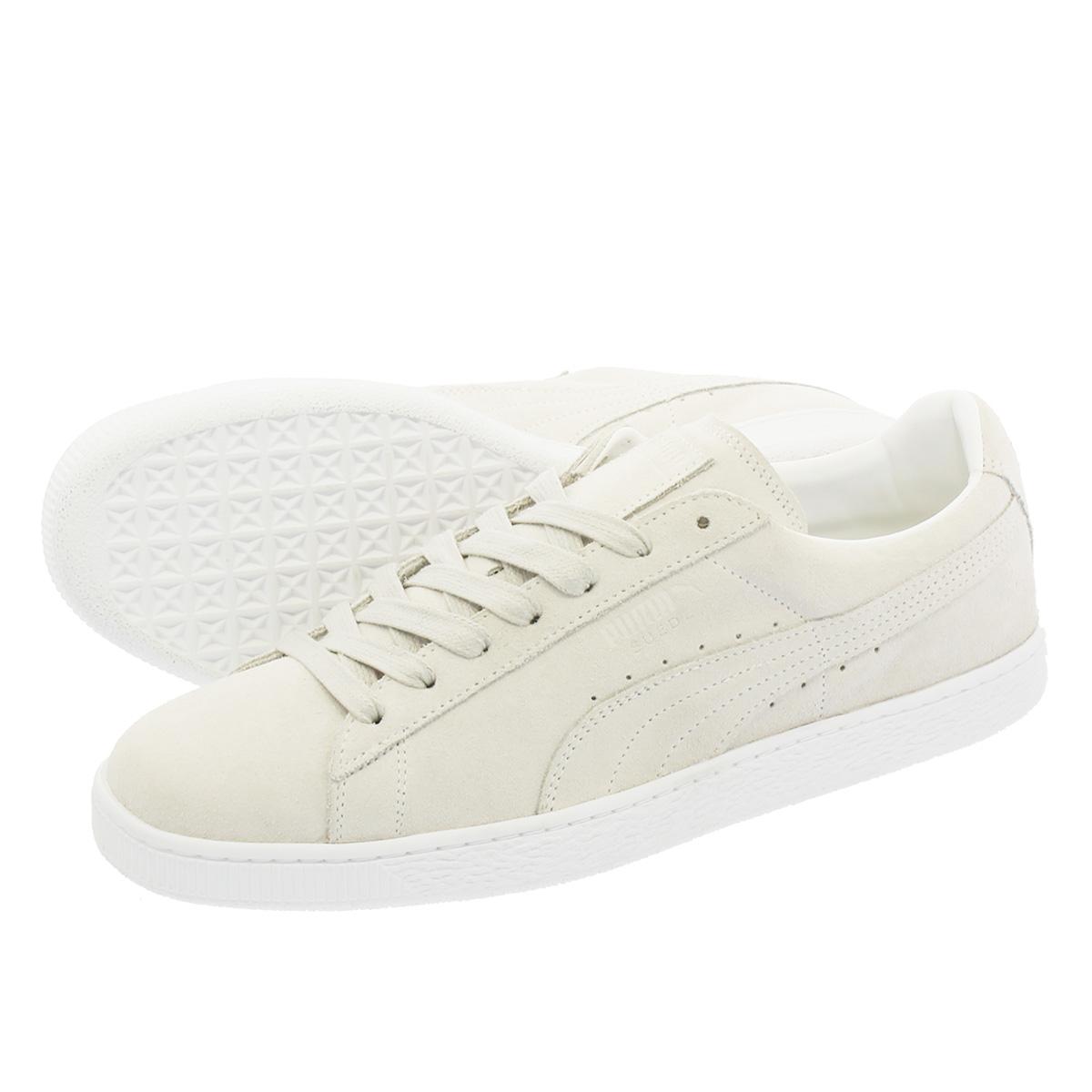 f5dece989b60 LOWTEX PLUS  PUMA SUEDE CLASSIC WHITE Puma suede cloth classical music white  PUMA WHITE PUMA WHITE