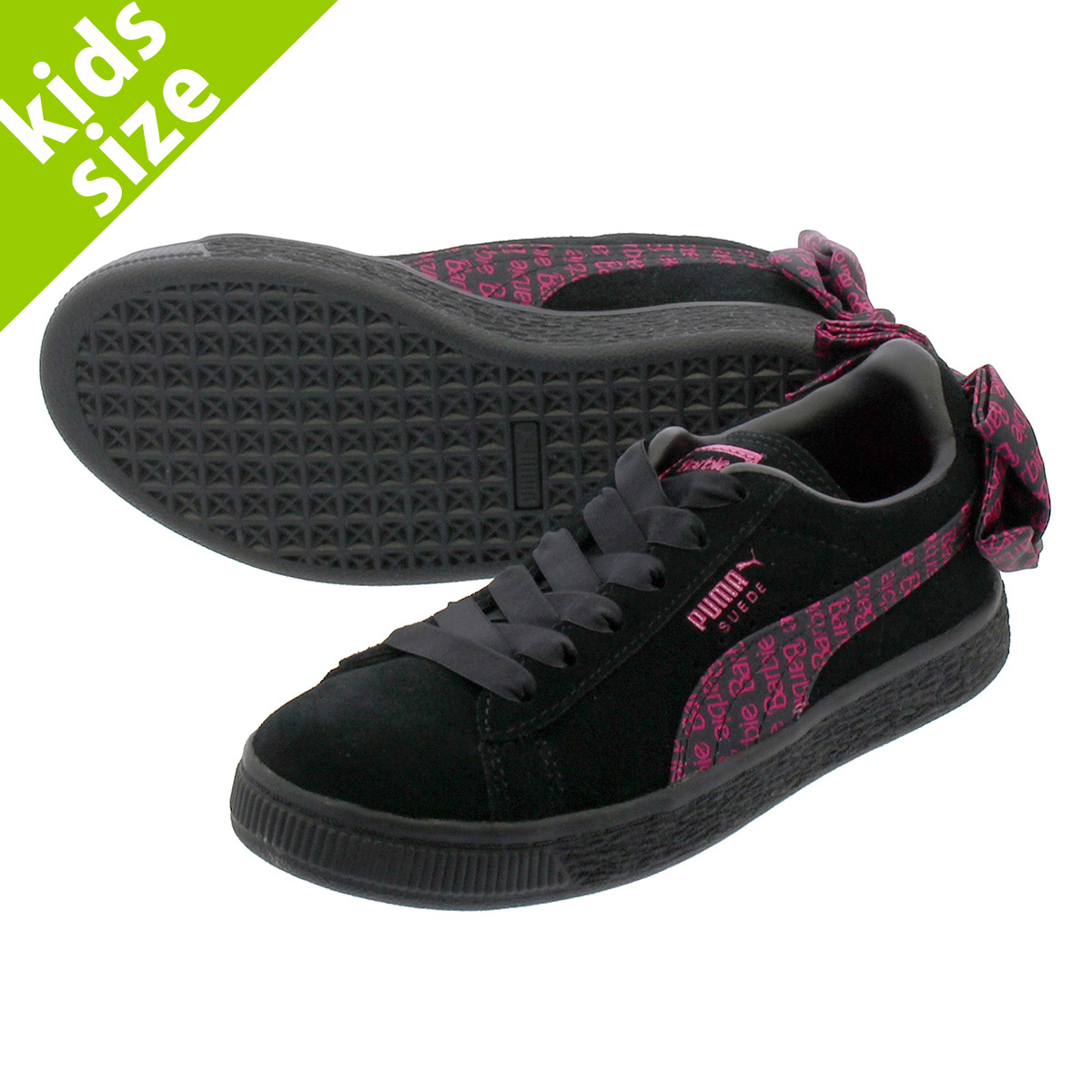 0927dd4542f LOWTEX PLUS  PUMA SUEDE CLASSIC X BARBIENODOLL P Puma suede cloth classical  music Barbie PUMA BLACK 366