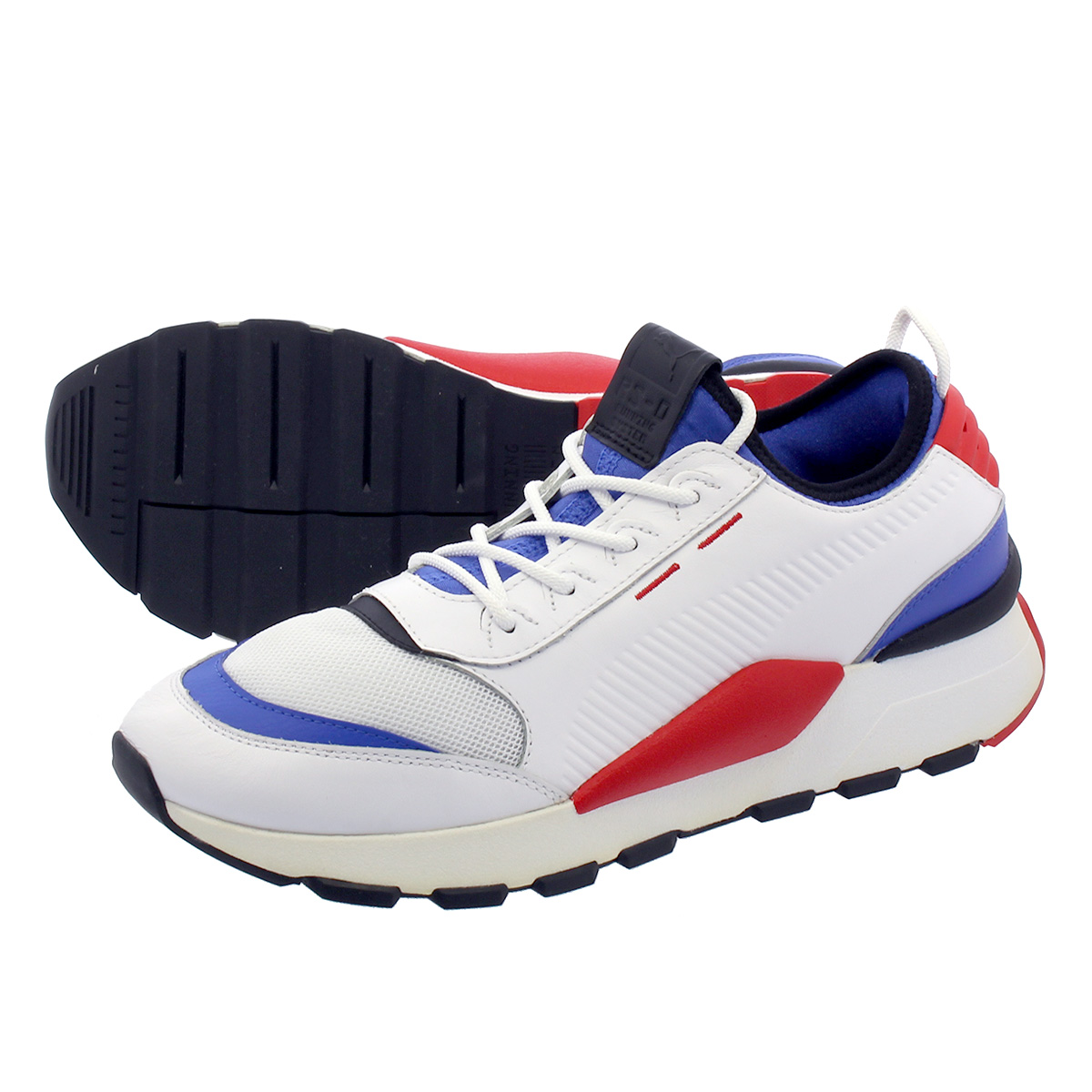 f1675ed962761c LOWTEX PLUS  PUMA RS-0 SOUND Puma RS-0 sound PUMA WHITE DAZZLING BLUE HIGH  RISK RED 366