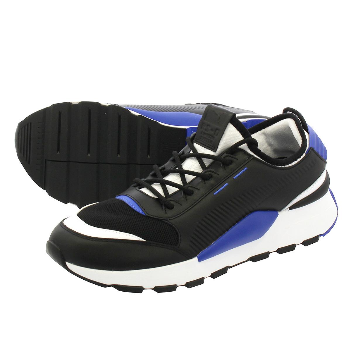 cd433b40f68eb7 LOWTEX PLUS  PUMA RS-0 SOUND Puma RS-0 sound PUMA BLACK DAZZLING BLUE PUMA  WHITE 366
