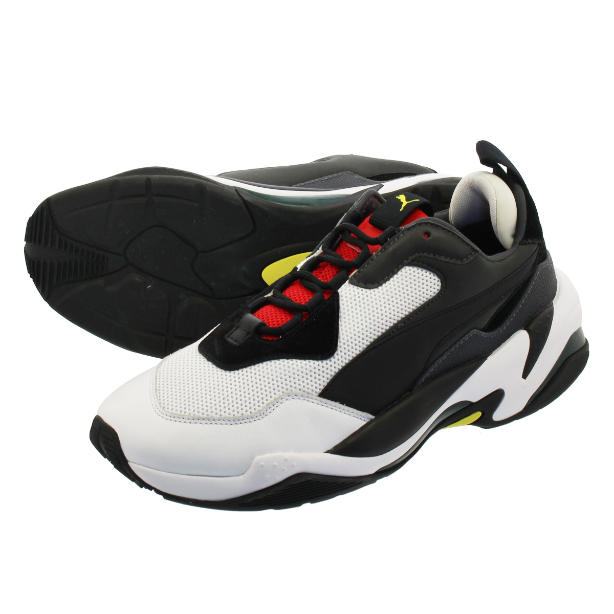 PUMA THUNDER SPECTRA プーマ サンダー スペクトル BLACK/HIGH RISK RED 367516-07
