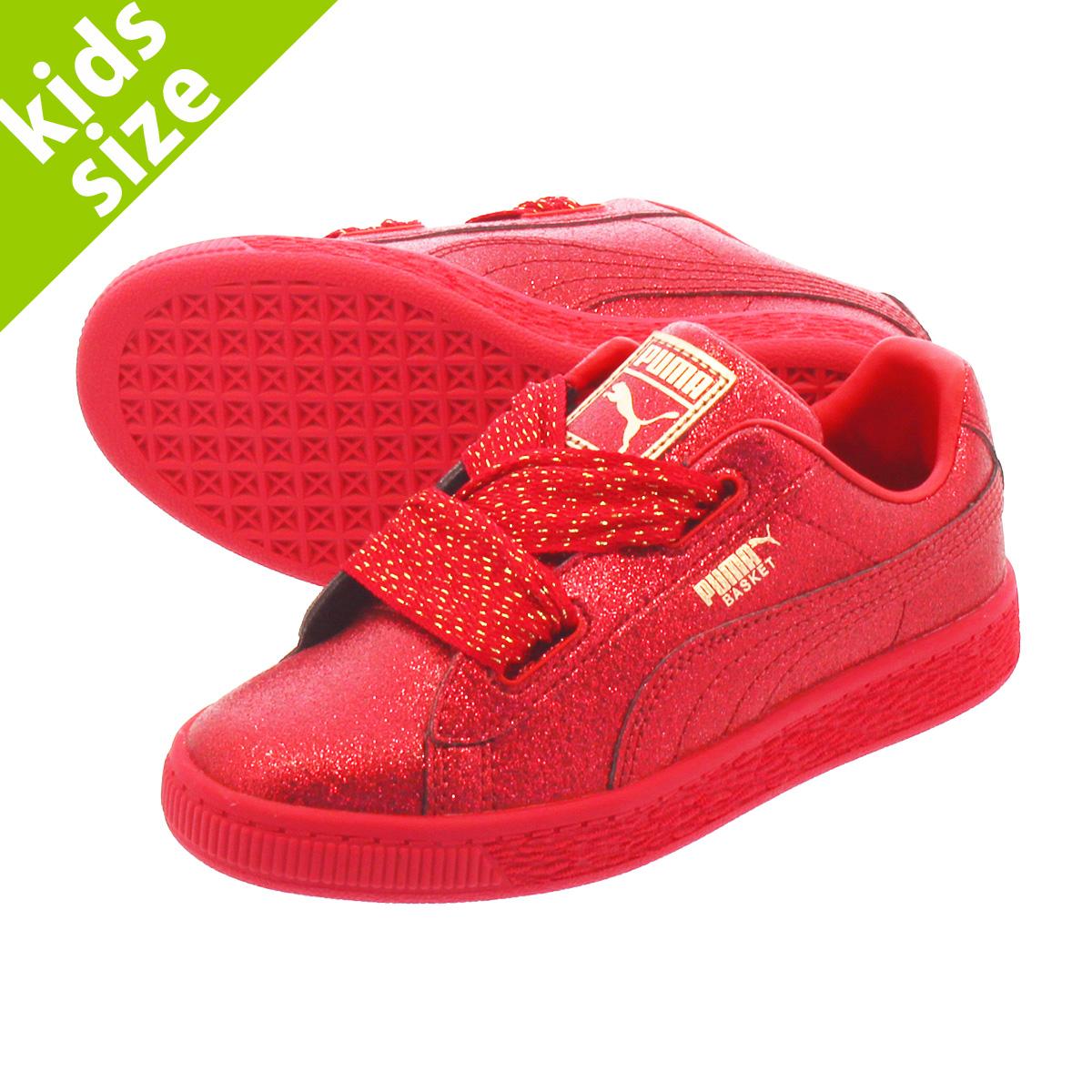 puma basket red
