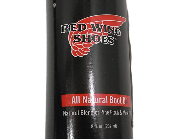 RED WING Red Wing BOOT OIL of ALL NATURAL all natural ブーツオイル 237 ml