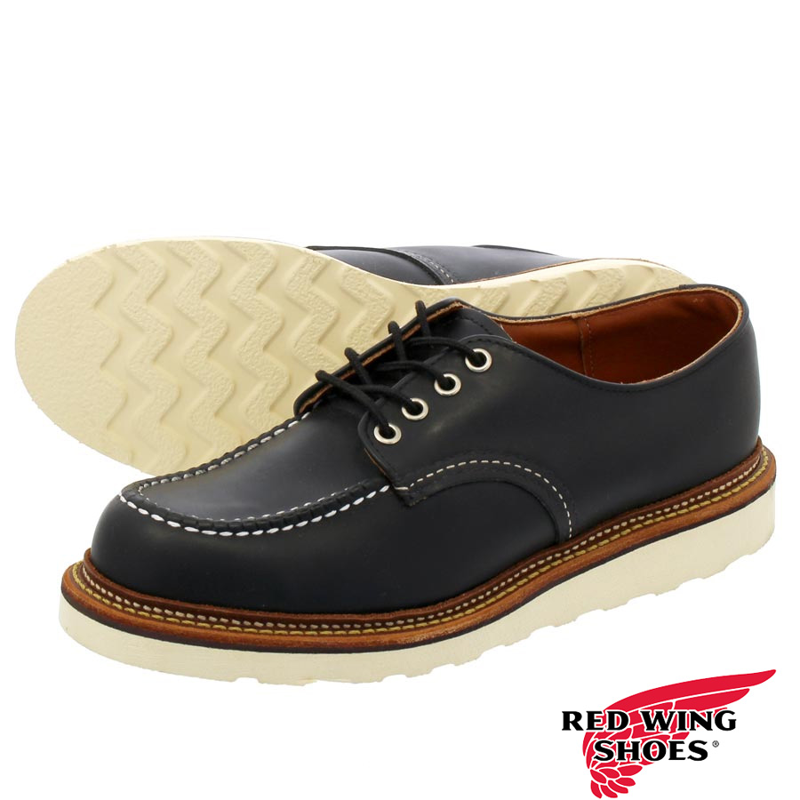 RED WING WORK OXFORD【MADE IN U.S.A.】 レッドウイング ワークオックスフォードBLACK