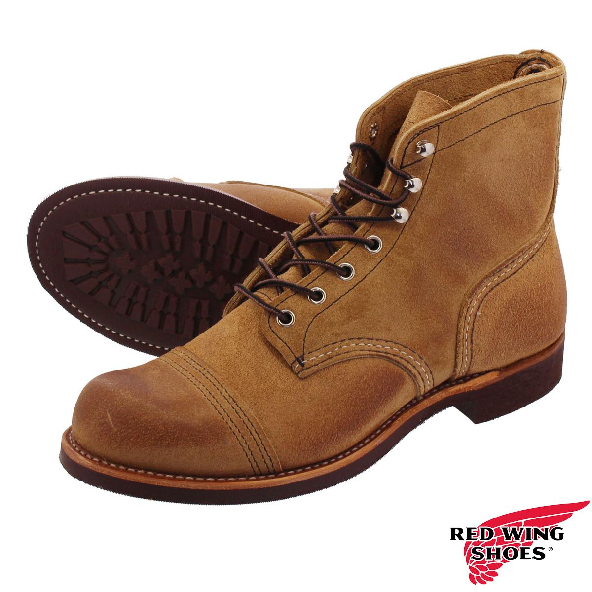 RED WING 6 INCH IRON RANGE BOOT 【Dワイズ】 レッドウィング 6 インチ アイアンレンジ ブーツ HAWTHORNE MULESKINNER rw-8083
