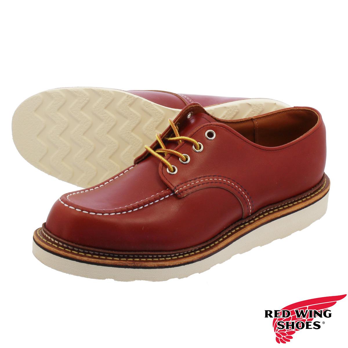 RED WING CLASSIC OXFORD 【Dワイズ】 レッドウイング ベックマン オックスフォード ORO RUSSET PORTAGE LEATHER rw-8103