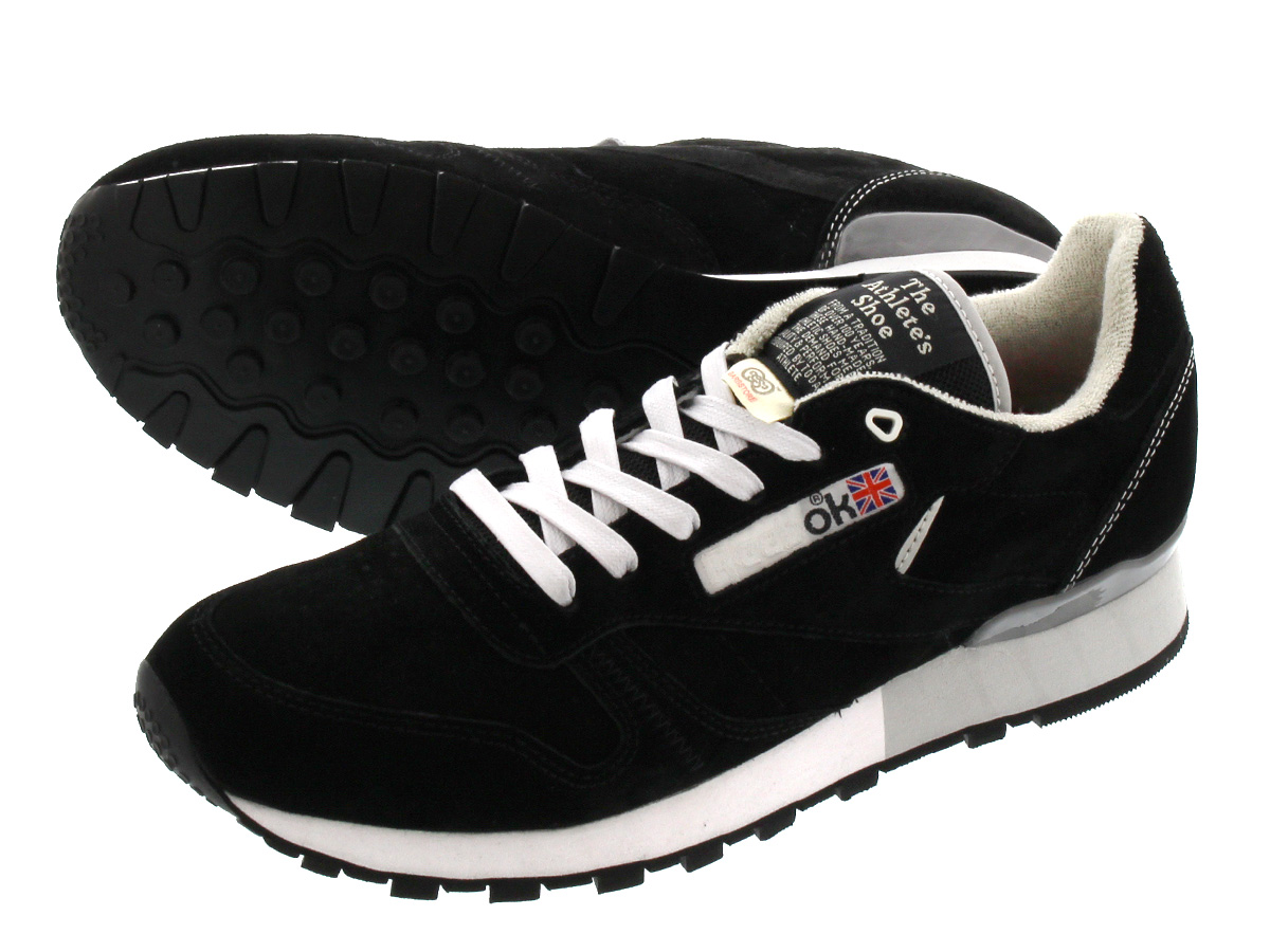 reebok gs cl leather reebok gs classic leather black grey white
