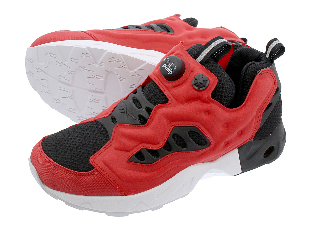 a1335299157e Reebok INSTAPUMP FURY ROAD MT リーボックインスタポンプフューリーロード MT BLACK PRIMAL RED WHITE