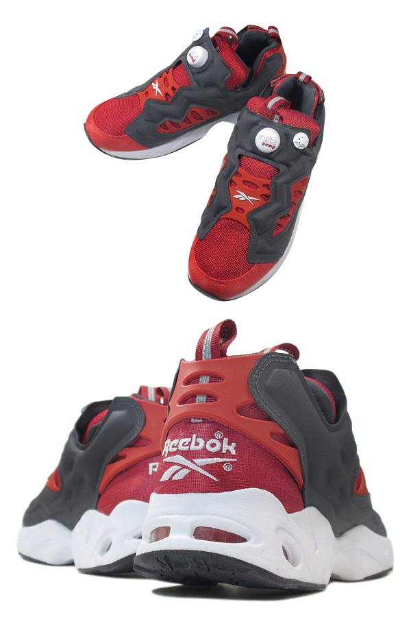 Reebok INSTAPUMP FURY ROAD リーボック インスタ ポンプ フューリー ロード RED/BLACK
