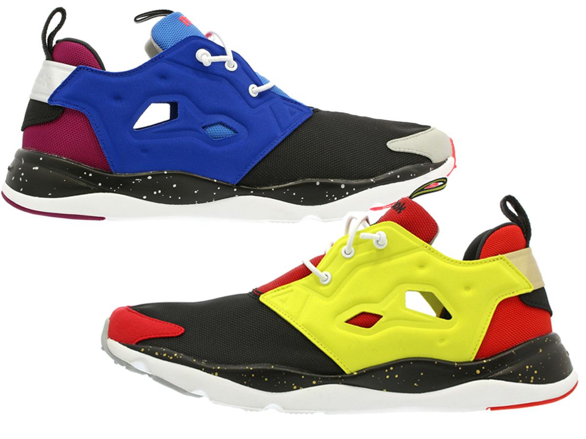 ついに再販開始 送料無料 REEBOK リーボック スニーカー 靴 コラボ メンズ レディース cn0083 毎日がお得 値下げプライス FURYLITE BLACK SHYPERGREEN LAB. キックスラボ × LAB.別注 フューリーライト 卓抜 KICKS Reebok ECHOBLU