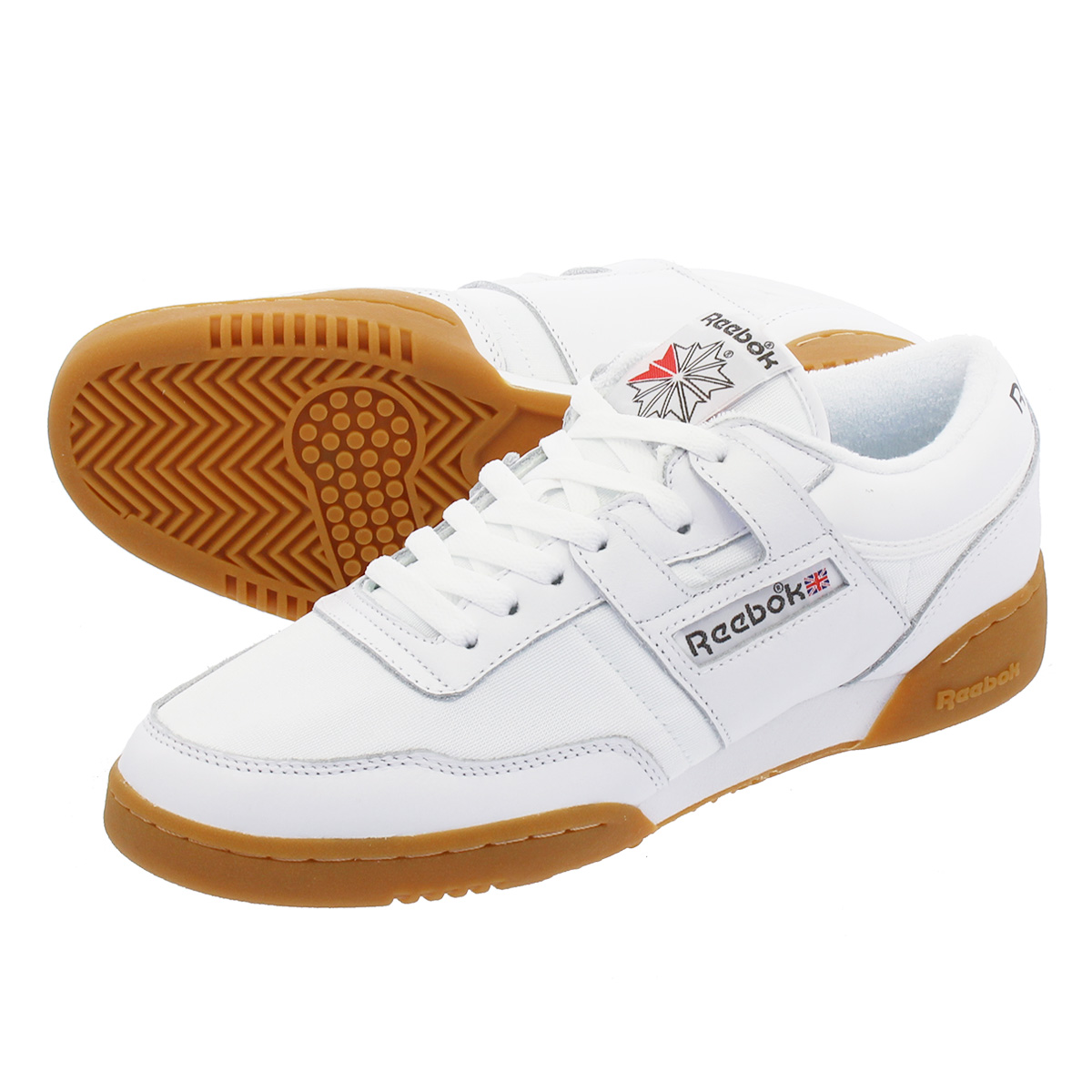 f9367428838 LOWTEX PLUS  Reebok WORKOUT 85 ARCHIVE Reebok practice game 85 archive WHITE  RED GREY GUM cn3660