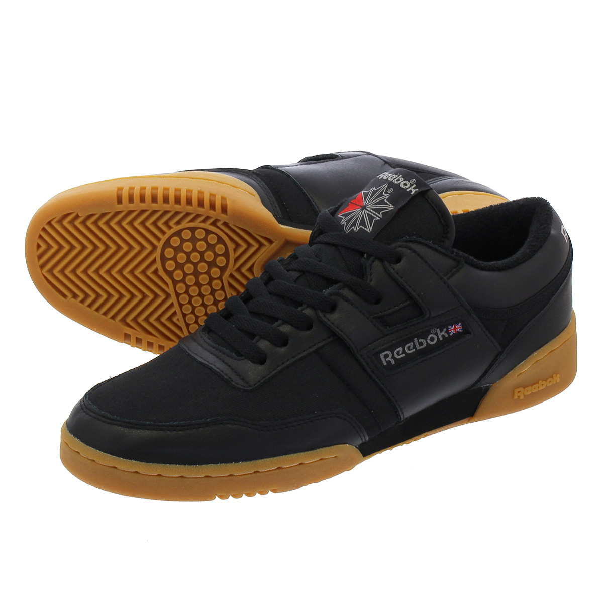 5f37bdceb968 Reebok WORKOUT 85 ARCHIVE Reebok practice game 85 archive  BLACK RED CARBON GUM cn3661