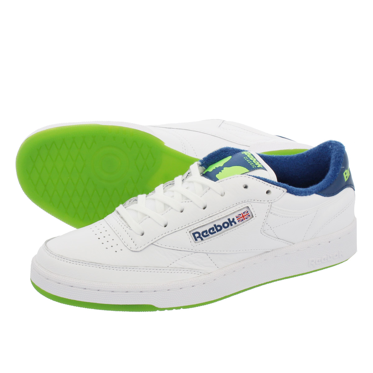 Reebok CLUB C 85 BRONZE リーボック クラブ C 85 ブロンズ NOBLE BLUE/GREEN/WHITE dv4822