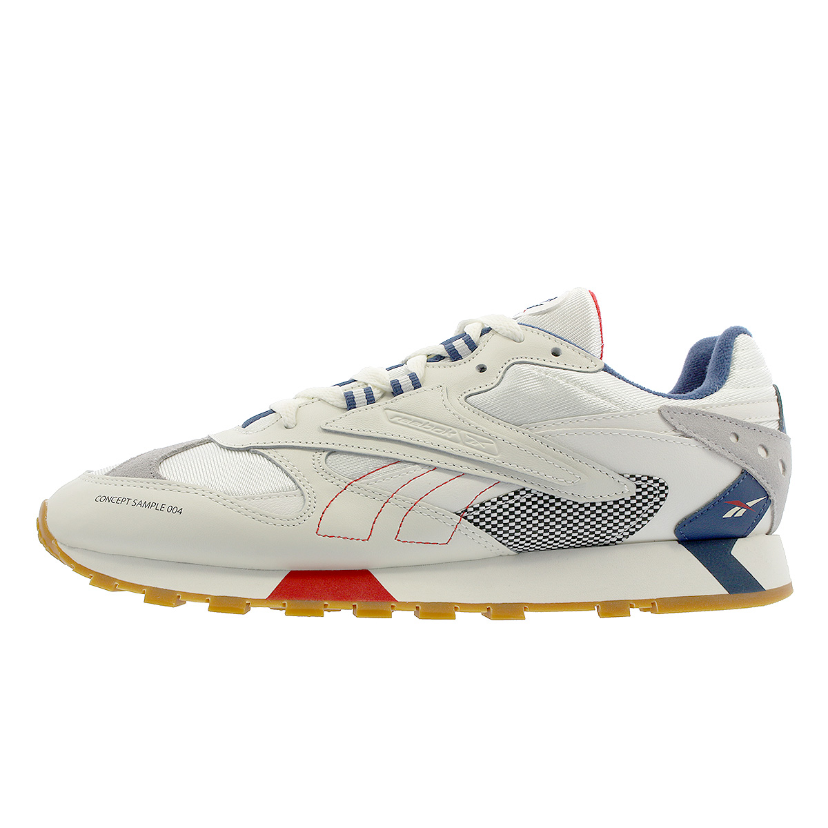 LOWTEX PLUS  Reebok CL LTHR ATI 90 S Reebok classical music leather Orr  terthe icon CHALK SKULL GREY WASHED BLUE PRIMAL RED dv5372  d0c7b7f3f