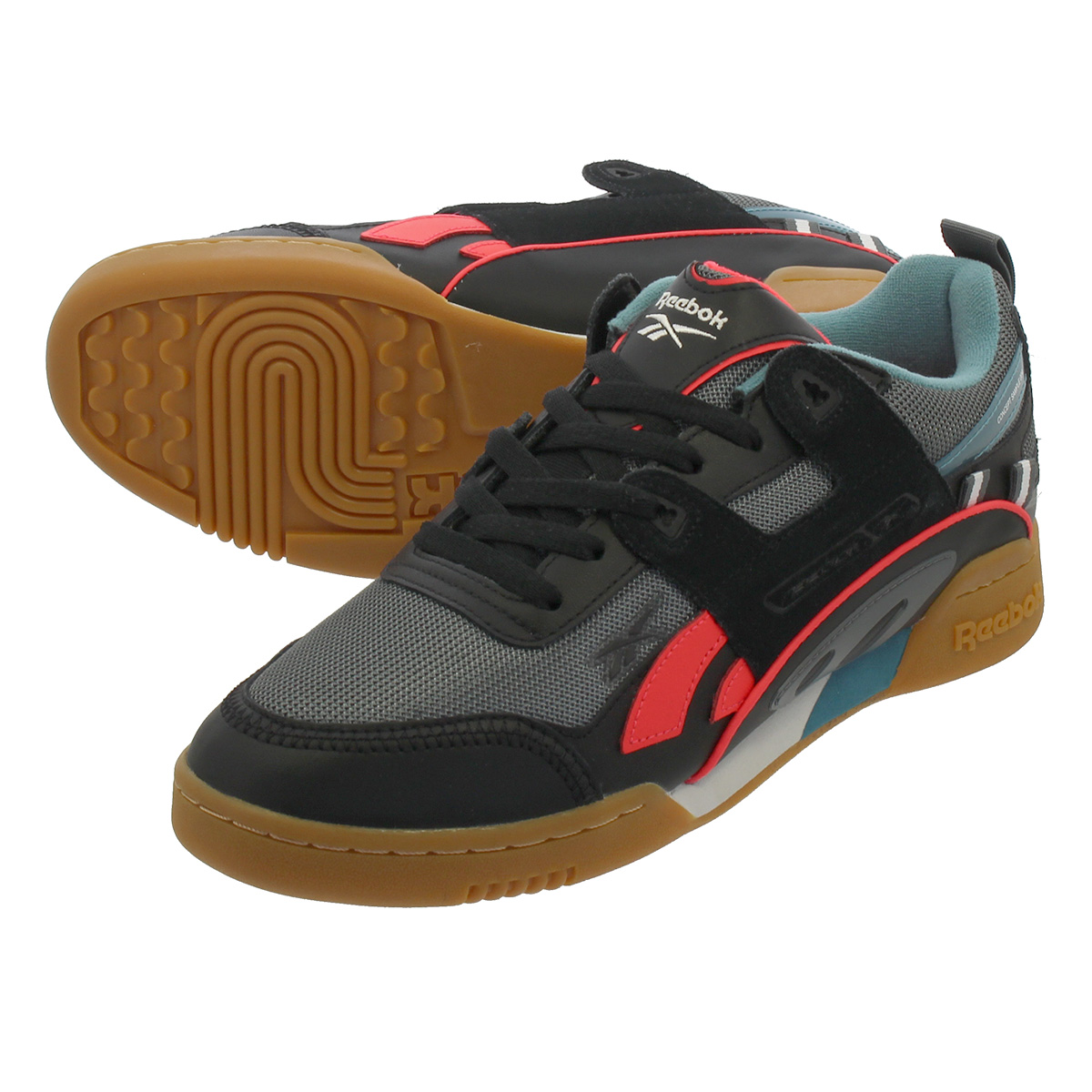 free delivery great variety styles quite nice Reebok WORKOUT PLUS ATI 90'S Reebok practice game plus Orr terthe icon 90'S  BLACK/ALLOY/NEON RED/MINERAL MIST dv6282