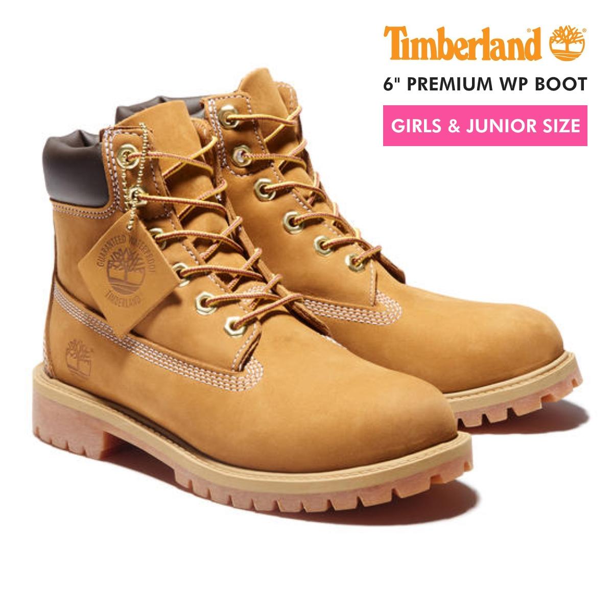 【毎日がお得!値下げプライス】 TIMBERLAND 6inch PREMIUM BOOT ティンバーランド 6インチ プレミアム ブーツ JUNIOR'S WEHAT No.12909 レディース