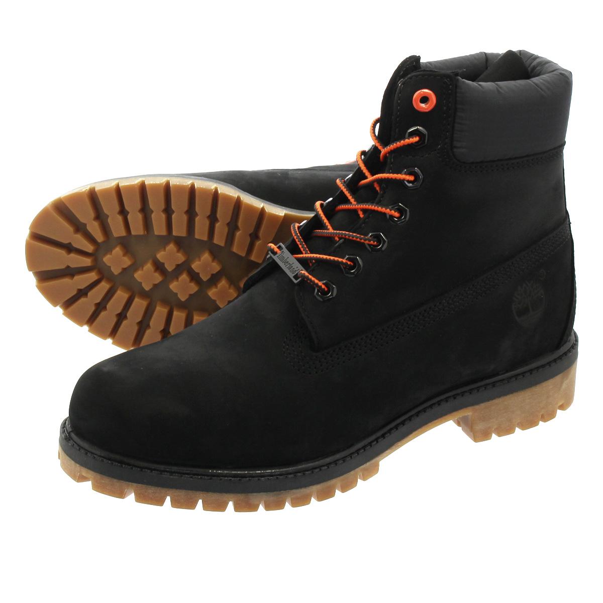 TIMBERLAND 6inch PREMIUM BOOTS ティンバーランド 6インチ プレミアム ブーツ BLACK NUBACK a1u7m