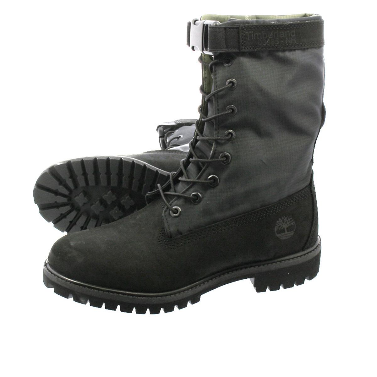 【毎日がお得!値下げプライス】 TIMBERLAND 6inch PREMIUM GAITER BOOTS ティンバーランド 6インチ プレミアム ゲイター ブーツ BLACK NUBACK a1ubp