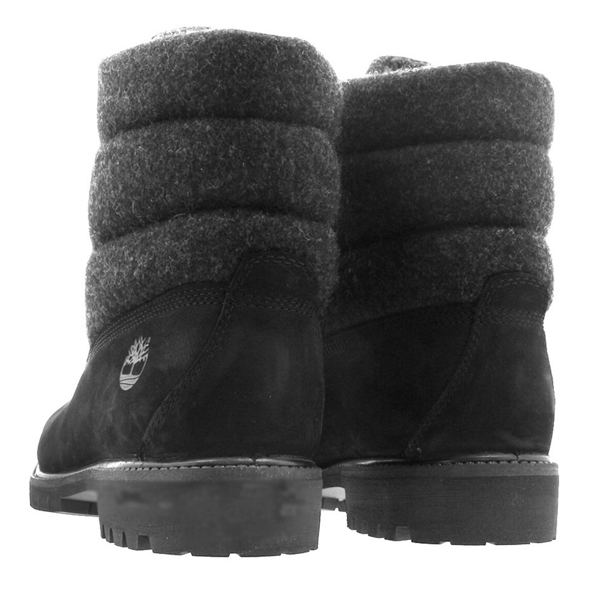 a6eb55d3911 6 inches of TIMBERLAND 6inch PREMIUM PUFFER BOOTS Timberland premium boots  BLACK NUBACK a1zr6