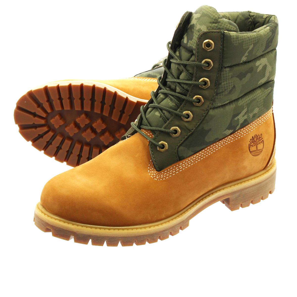 fd1ec054077 6 inches of TIMBERLAND 6inch PREMIUM PUFFER BOOTS Timberland premium boots  WHEAT NUBACK a1zrh