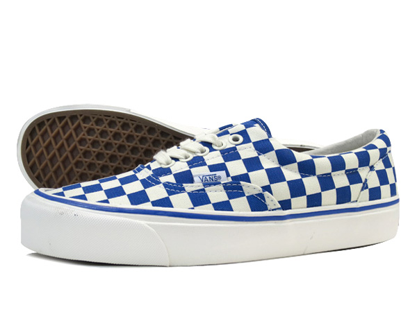 vans vault checkerboard blue