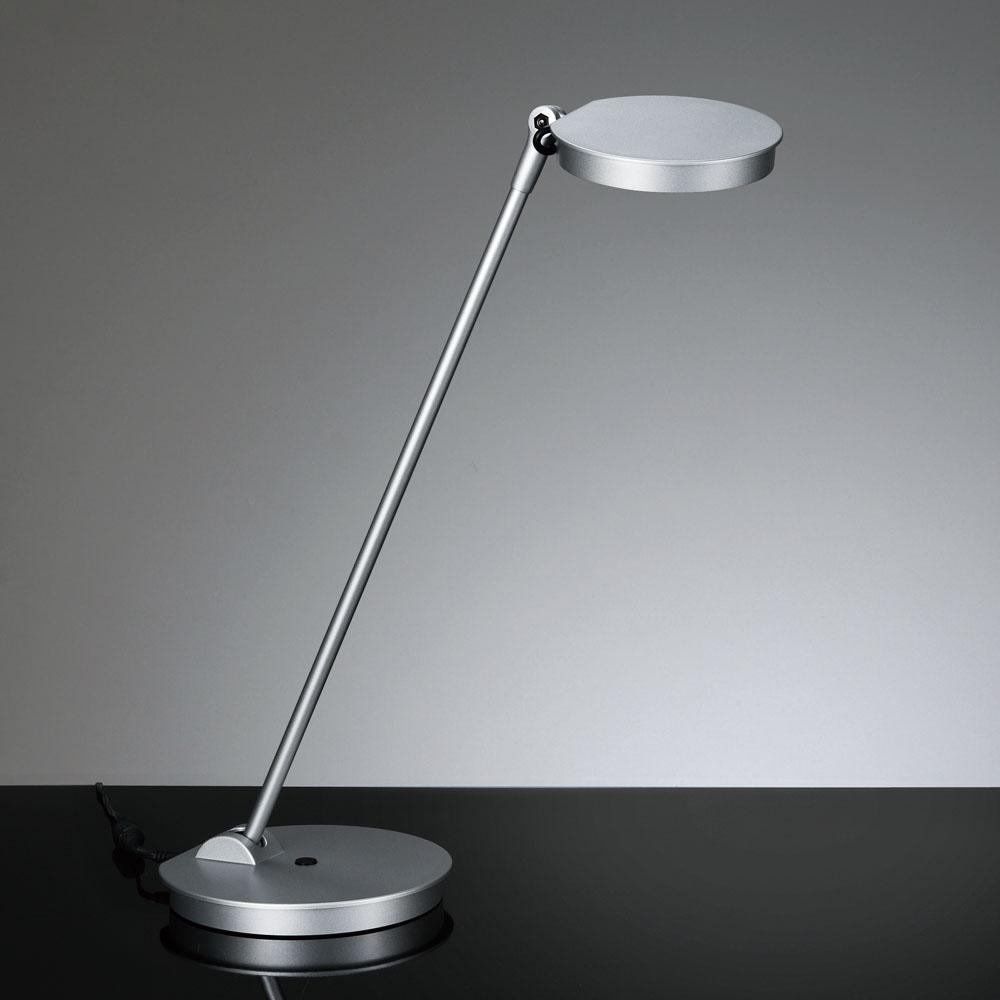 セール価格 山田照明 休み LEDデスクライトZ-8NSLシルバー高演色 5000K昼白色無段階調光 プッシュスイッチ卓上型 Z-Light ベースタイプ白熱60W相当Zライト Z8NSL ゼットライト