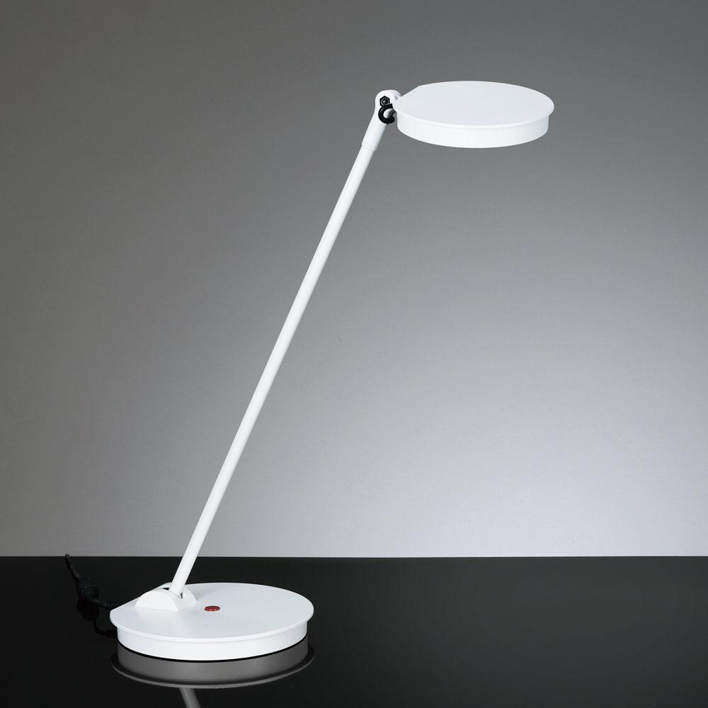 山田照明 LEDデスクライトZ-8NWホワイト高演色 5%OFF 5000K昼白色無段階調光 宅配便送料無料 プッシュスイッチ卓上型 Z8NW Z-Light ゼットライト ベースタイプ白熱60W相当Zライト