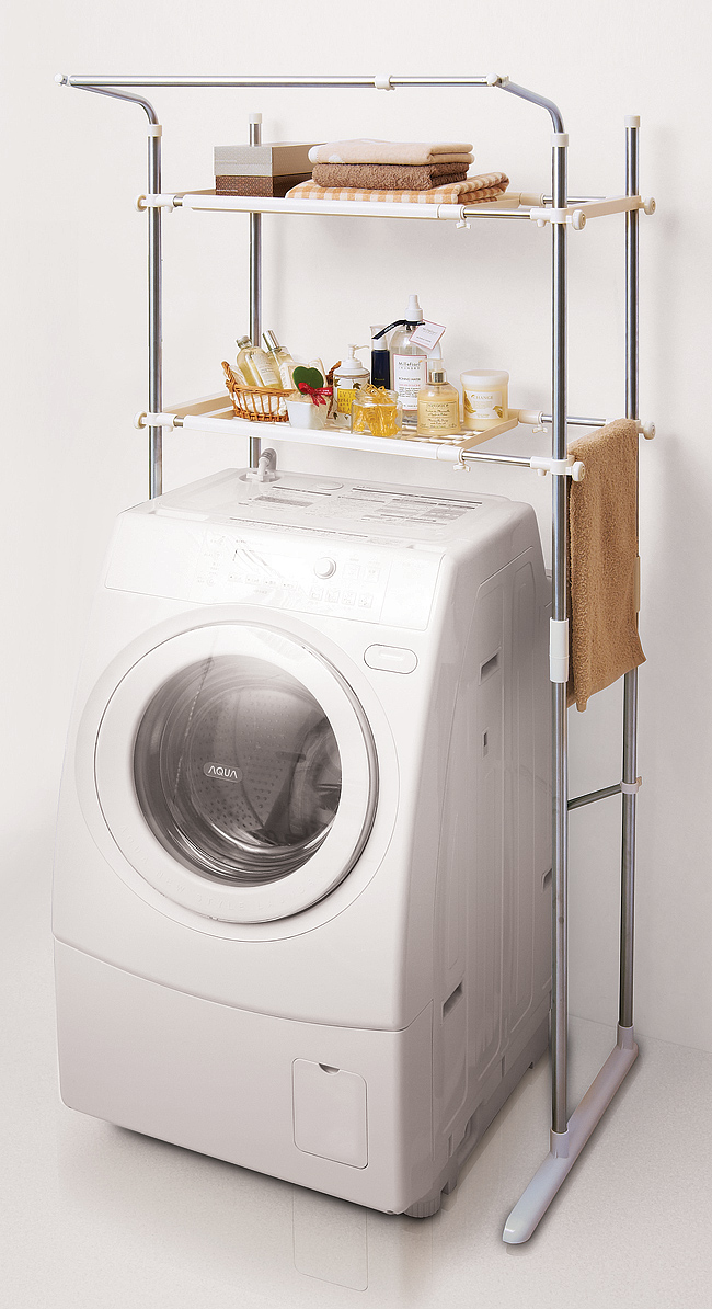 The Dead Space On The Washing Machine As Storage Space Utilization Cough  Sui Washing Machine Rack SSR 40 10P28oct13