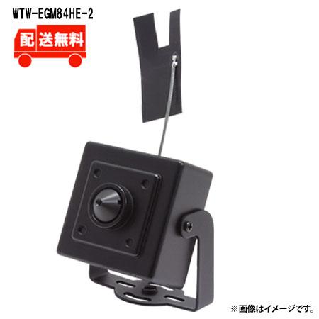 [送料無料]220万画素 機器間Wi-Fi対応IPネットワークシリーズ 屋内仕様 ミニチュアカメラ WTW-EGM84HE-2