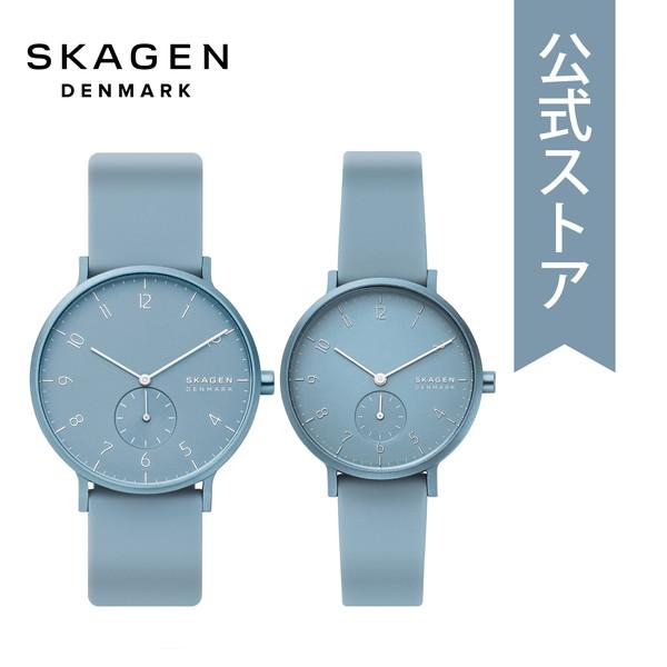 【6/4 20時~ スーパーセール限定 ポイント10倍!】2019 冬の新作 スカーゲン 腕時計 メンズ レディース ペア ウォッチ セット Skagen 時計 SKW1116 AAREN 公式 2年 保証
