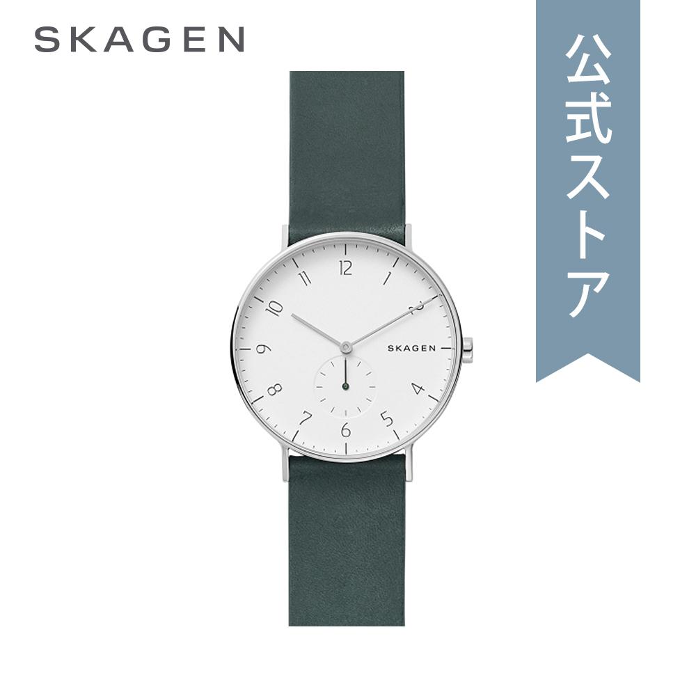 『Fashion week P最大18倍~1/8(火)9:59まで』30%OFF 2018 秋の新作 スカーゲン 腕時計 公式 2年 保証 Skagen メンズ アーレン SKW6466 AAREN