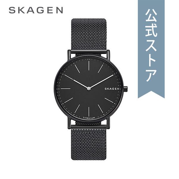 『Fashion week P最大18倍~1/8(火)9:59まで』2018 冬の新作 スカーゲン 腕時計 公式 2年 保証 Skagen メンズ シグネチャー SKW6484 SIGNATUR