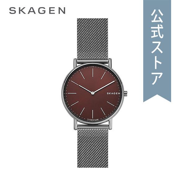 『Fashion week P最大18倍~1/8(火)9:59まで』30%OFF 2018 冬の新作 スカーゲン 腕時計 公式 2年 保証 Skagen メンズ シグネチャー SKW6485 SIGNATUR