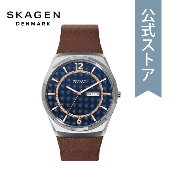 【6/4 20時~ スーパーセール限定 ポイント10倍!】2019 冬の新作 スカーゲン 腕時計 メンズ Skagen 時計 SKW6574 MELBYE 公式 2年 保証